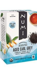 numi organic tea aged earl grey tea bags
