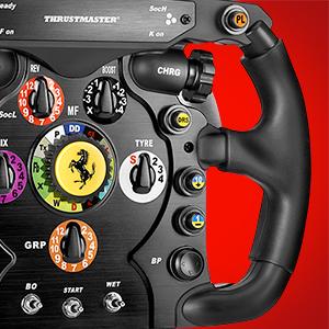 thrustmaster, race kit, scuderia ferrari, ferrari, scuderia ferrari race kit, volante ferrari