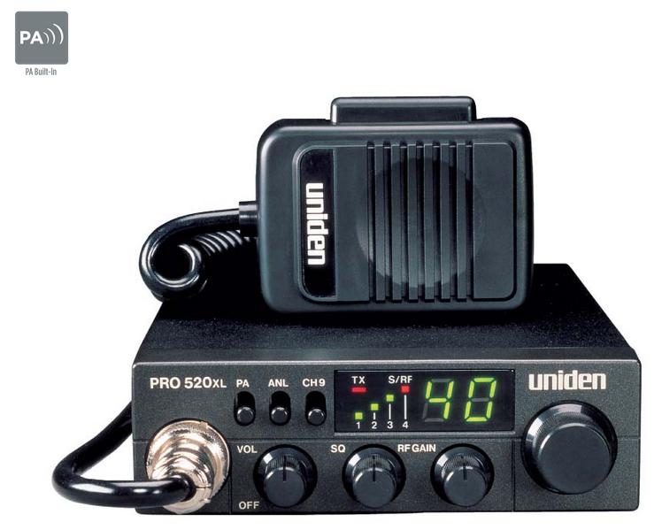 amazon com uniden pro520xl pro series 40 channel cb radio compact rh amazon com