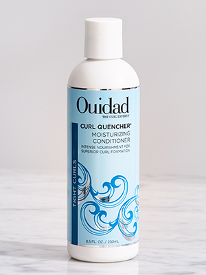 Curl quencher moisturizing conditioner for tight curly hair