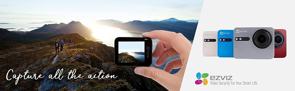 Ezviz S5 4k Sport Action Kamera 16mp Wasserdichtes Kamera