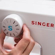 SINGER stitch dial