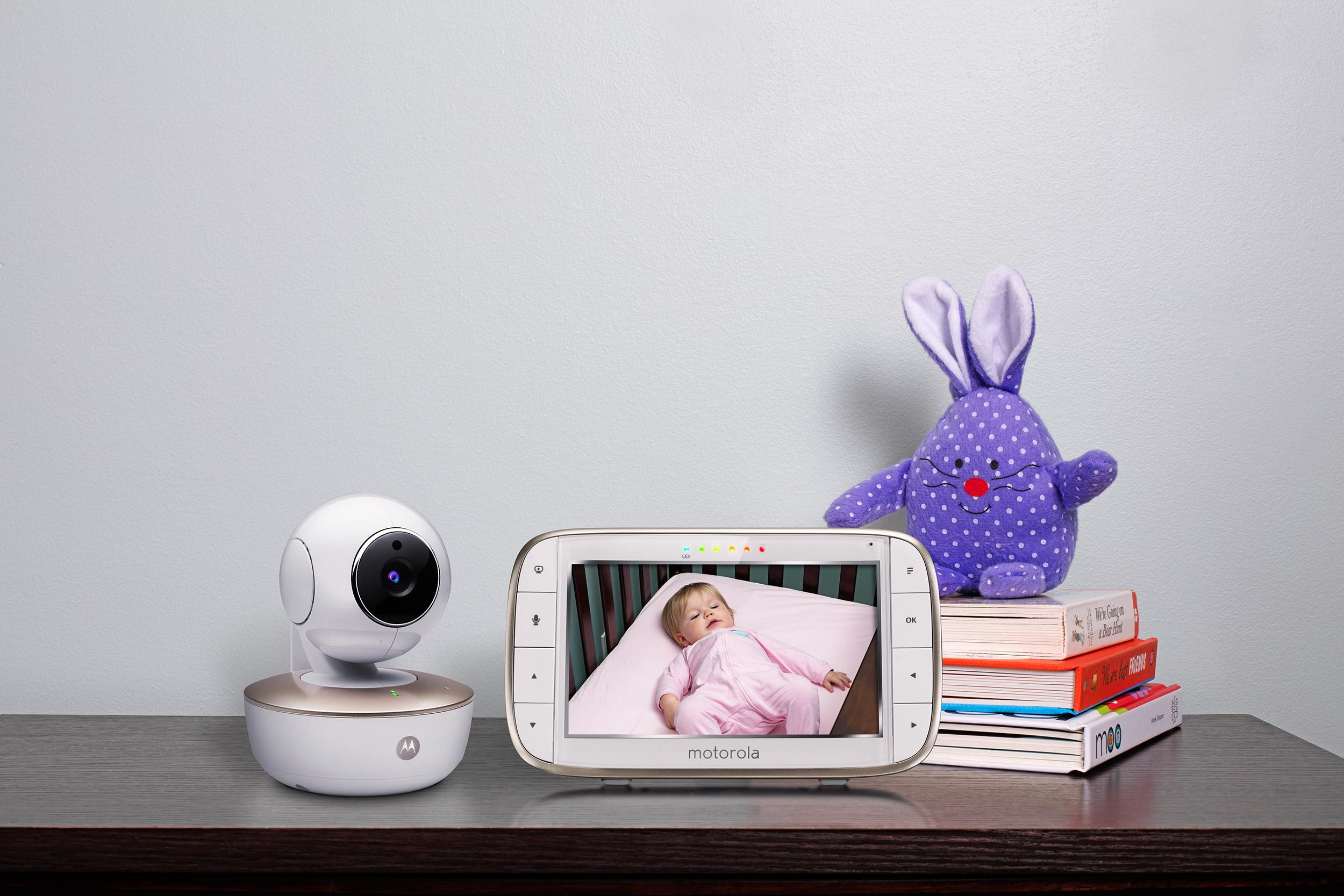 motorola 5 inch portable video baby monitor with wifi mbp855connect. view larger motorola 5 inch portable video baby monitor with wifi mbp855connect n