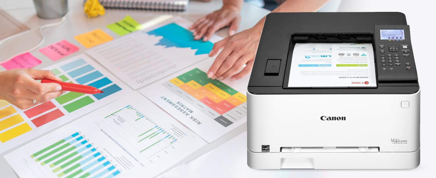 LBP622Cdw, LBP622, color printer, color laser, wireless printer, small printer, mobile printer