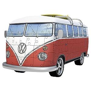 ravensburger 12516 vw bus t1 3d puzzle spielzeug. Black Bedroom Furniture Sets. Home Design Ideas
