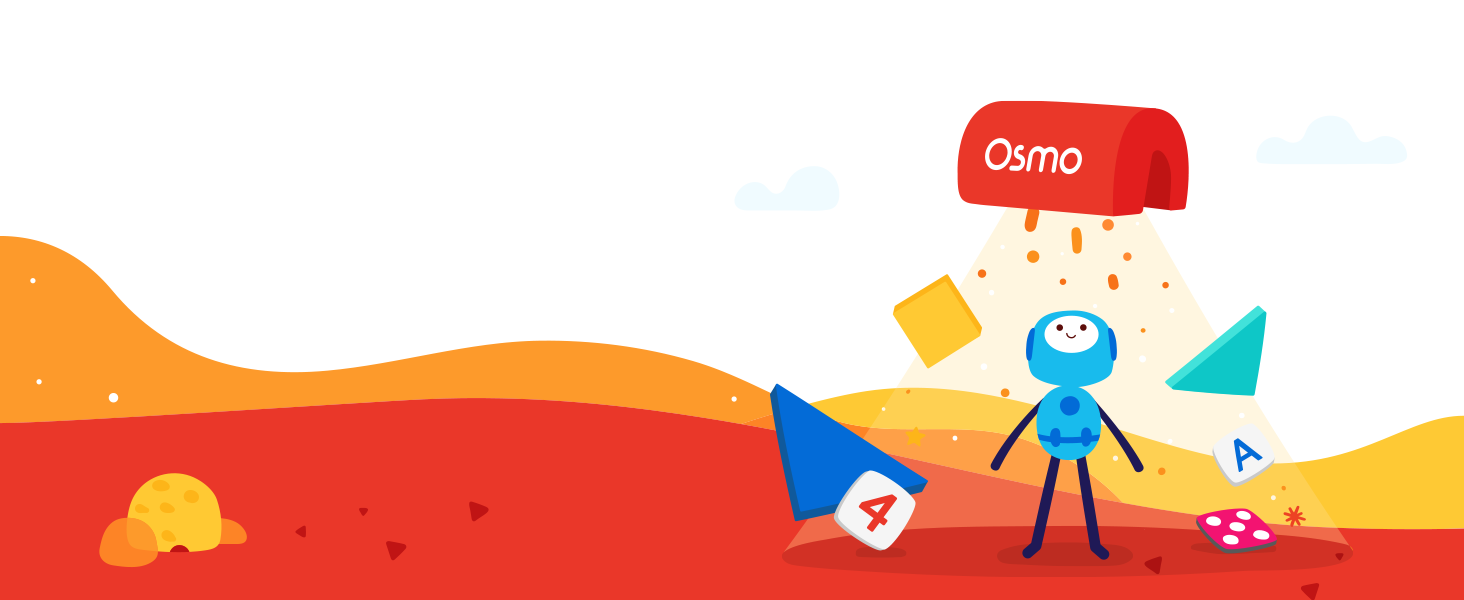 What is osmo - learning through education use game pieces to move a game forward