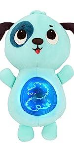 soft toy, baby toy, plush, interactive, stuffed animal, dog, songs, lights, bedtime, naptime, sleep