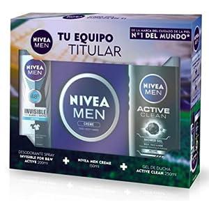 NIVEA MEN Pack Men de 3 productos, set de baño para hidratar la ...