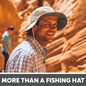 more than a fishing hat