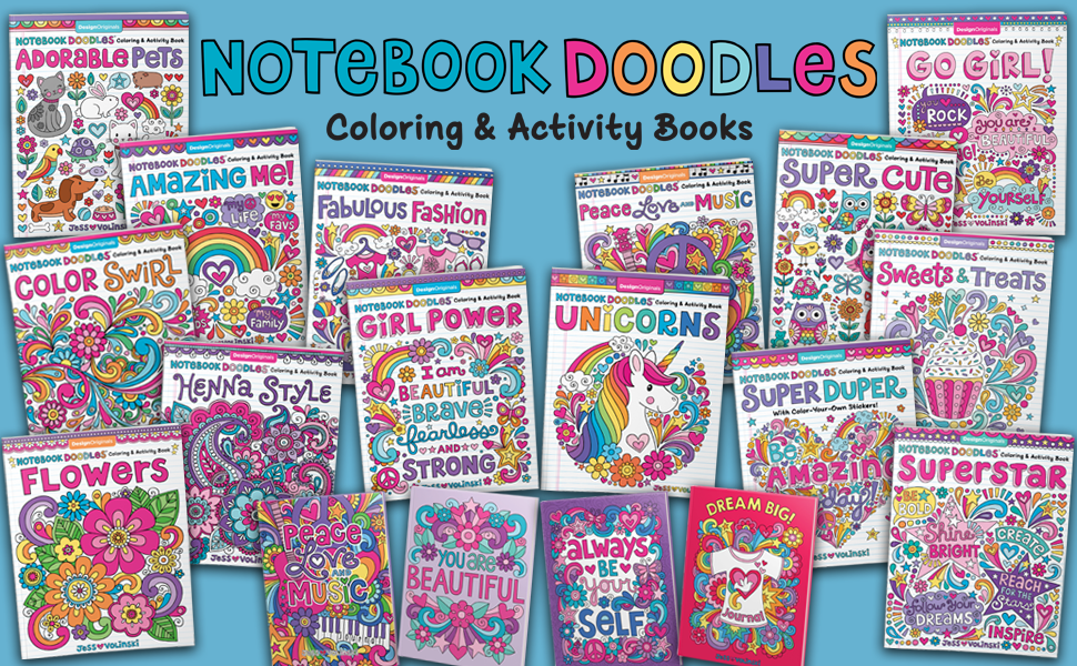 coloring books for tweens, craft a doodle, craft books for teen girls, crafts for teens, doodle book