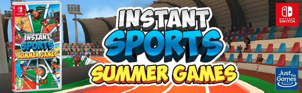 Instant Sport Summer Games Banner