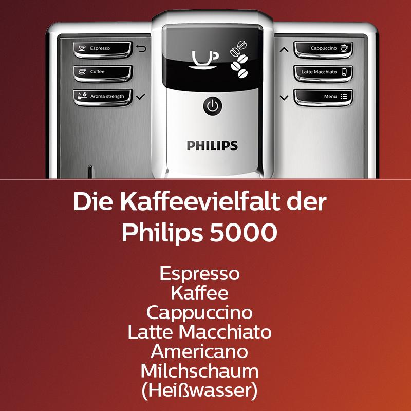 Amazon.de: Philips 5000 Serie EP5365/10 Kaffeevollautomat