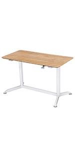 Sitz-Steh-Schreibtisch