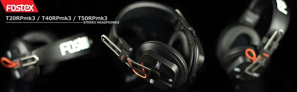 Fostex RP-Series Professional Headphones