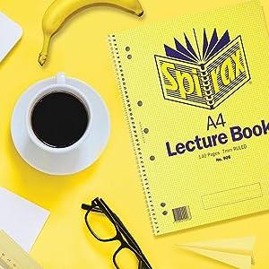 Spirax Lecture Books