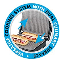 flat grill, 180 grill, dual grill, fold out grill, table grill
