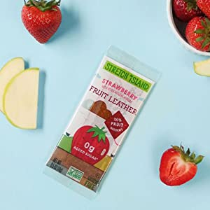 Strawberry Leather - Naturally sweet strawberries are always in season with this delicious strip