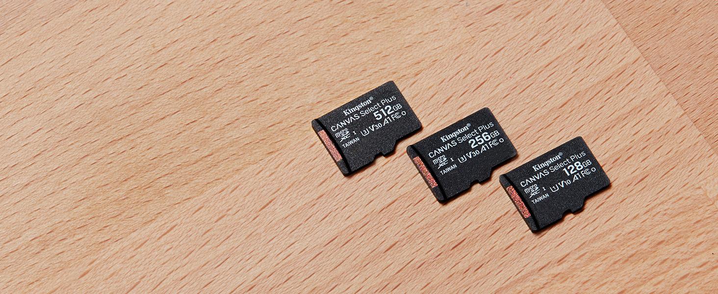 Amazon.com: Kingston 32GB microSDHC Canvas Select Plus 100MB ...