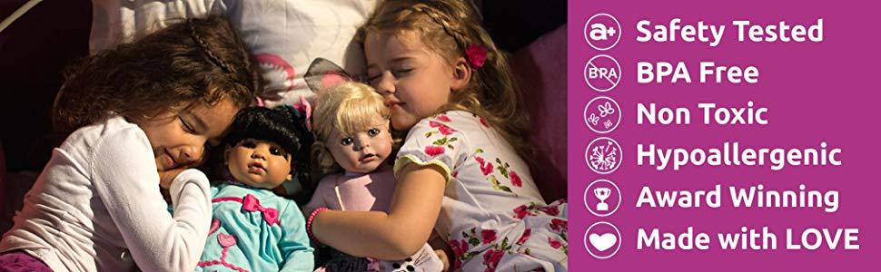 adora, куклы, малыши, созданные для игры, милые, веселые, проверенные на безопасность, без бпа, отмеченные наградами, не токсичные