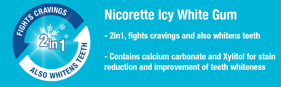 icy white nicorette