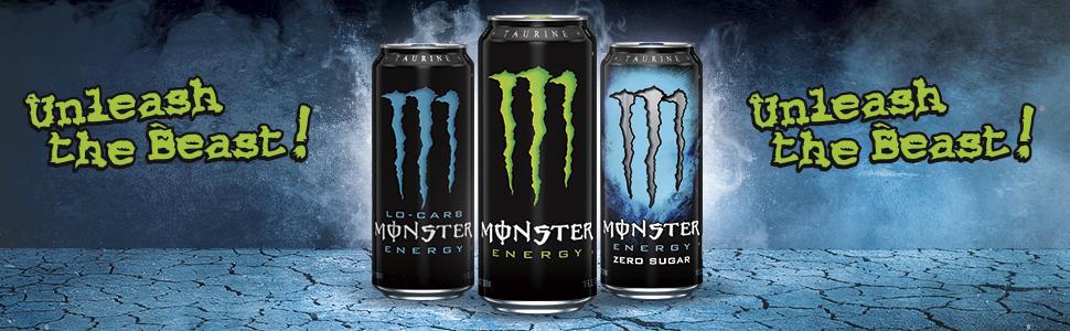Green can Monster green original best popular energy drink in bulk