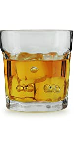 Double Old Fashion Whiskey Glasses