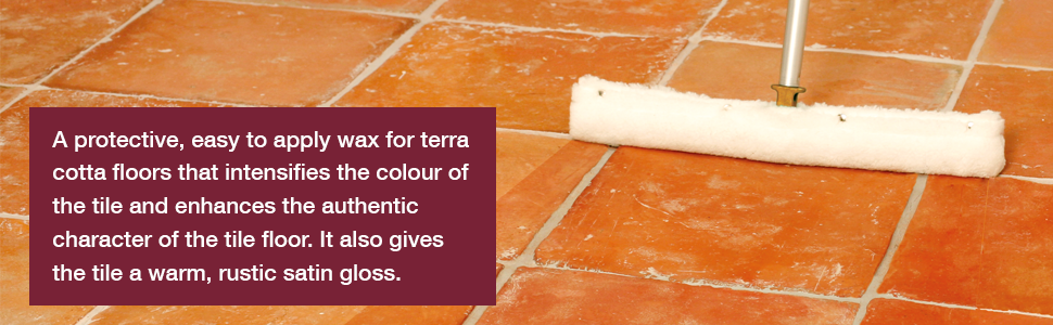 HG Terracotta Wax Natural 1L – is a terracotta floor wax which protects and  intensifies the colour of all terracotta floor tiles