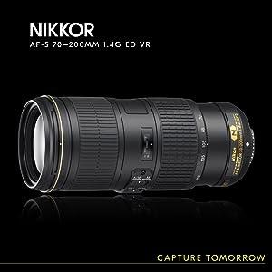 Nikon Af S Nikkor 70 200mm 1 4g Ed Vr Objektiv Für Kamera