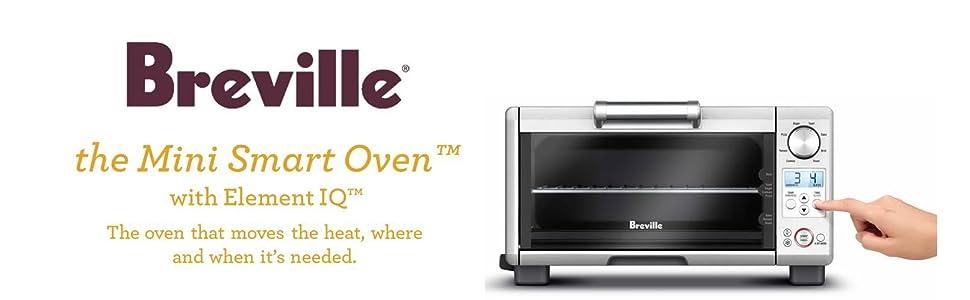 Breville Brebov450xl Quot Mini Smart Oven Quot Amazon Ca Home
