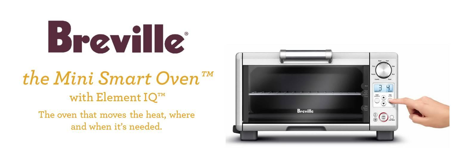 Breville Brebov450xl Quot Mini Smart Oven Quot Amazon Ca Home