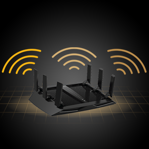 Router with TRi Band