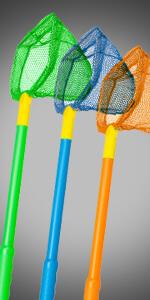 bait net live well rubber nylon colors flexible plastic poly minnons shrimp crabs hands free clean