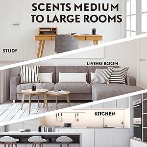 scents medium large rooms