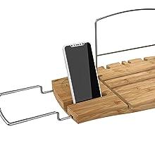 bath caddy, bath caddy tray for tub, bath caddy tray, bath caddy for tub, bath tray with book stand