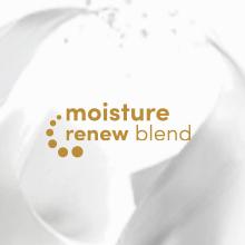 Dove Moisture Renew Icon on a creamy background