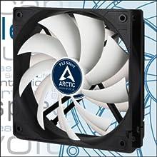 ARCTIC F12 Silent - 120 mm - F-Series Ventilador de Caja para CPU, Gris/ Blanco: Amazon.es: Informática
