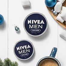 NIVEA MEN Pack Creme, set de regalo con crema hidratante NIVEA MEN ...