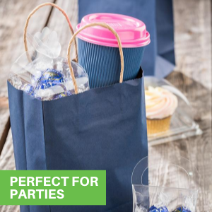 These disposable bags are available in a variety of colors and designs to find the perfect fit.