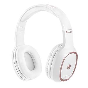 NGS Artica Patrol Auriculares Bluetooth con Micrófono Blanco