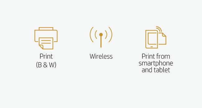 print B&W 802.11 smartphone tablet