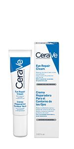 CeraVe; Ojos; Crema; Iluminar; Ácido Hialurónico; Crema; Cara; Sensitivo; Hidratante; Cuidado de la Piel