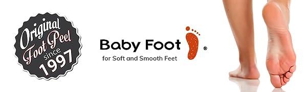 Baby Foot Peel Logo