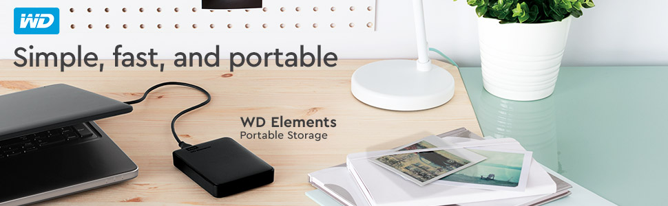 WD, WD Elements Storage, Lifestyle, Portable Storage, Hard Drive