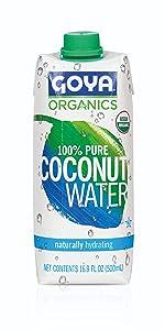 agua de coco organica