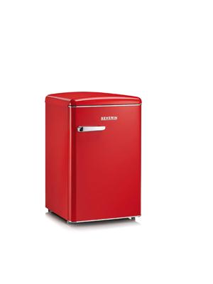 SEVERIN RKS 8830, Mini-Frigorífico Retro, 106 L, Rojo retro ...