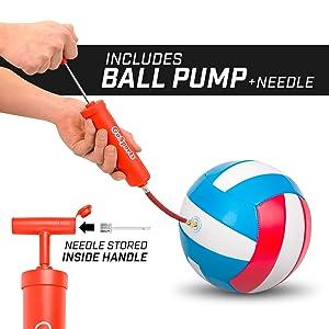 gosports recreational volleyball soft touch beginner beach family volley ball coach camp parents