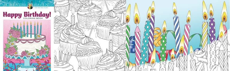 adult coloring birthday