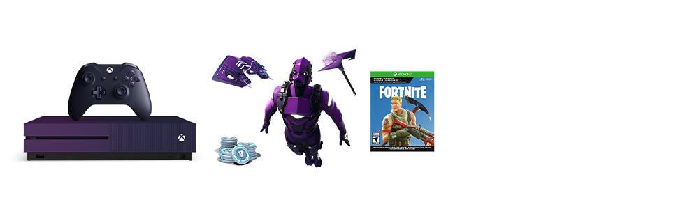 Amazon Com Xbox One S 1tb Console Fortnite Battle Royale