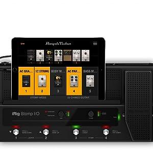 iRig, Stomp I/O, AmpliTube