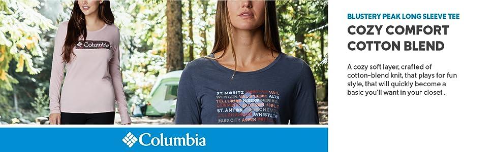 Columbia Women's Blustery Peak Long Sleeve Tee